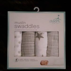 Muslin Swaddles by Aden + Anais, Soft